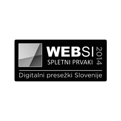 Websi spletni prvak 2014