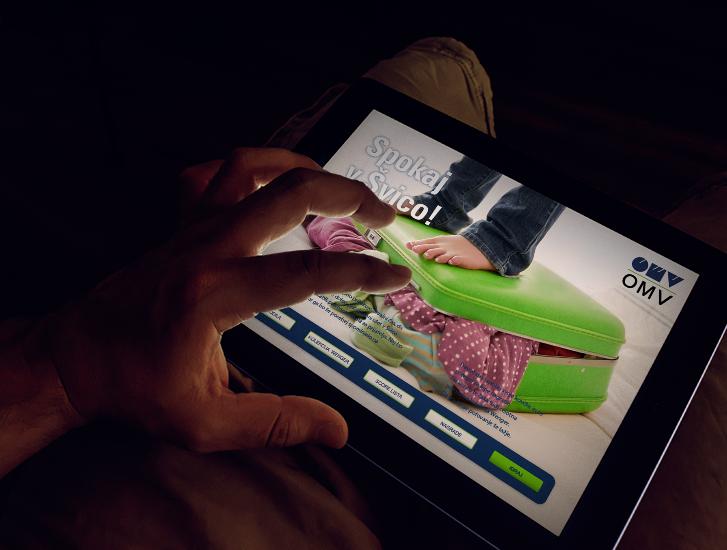 OMV spletni projekt Spokaj v Svico